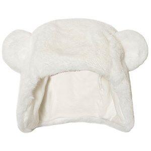 Absorba Unisex Headwear Cream Cream Faux Fur Eared Hat