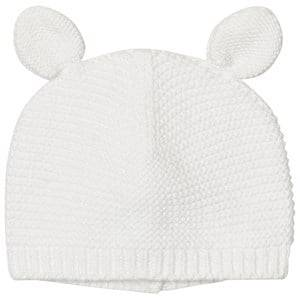 Absorba Unisex Headwear Cream Cream Knit Eared Hat