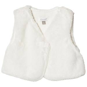 Absorba Girls Coats and jackets Cream Cream Faux Fur Gilet