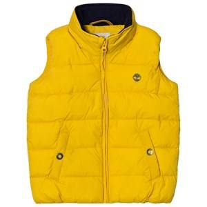 Timberland Boys Coats and jackets Yellow Yellow Puffer Hooded Gilet