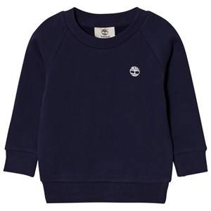 Timberland Boys Jumpers and knitwear Navy Navy Branded Sweatshirt