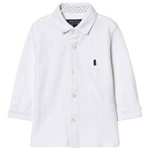 Mayoral Boys Tops White White Classic Shirt