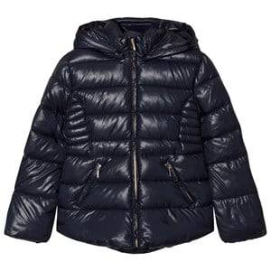 Mayoral Girls Coats and jackets Navy Navy Hooded Puffer Jacket