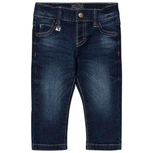Mayoral Boys Bottoms Blue Dark Wash Slim Fit Jeans