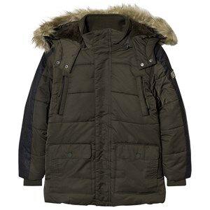 Mayoral Boys Coats and jackets Navy Khaki Padded Parka