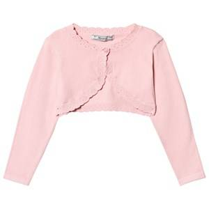 Image of Mayoral Girls Jumpers and knitwear Pink Pink Knit Bolero