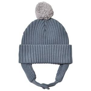 Stella McCartney Kids Girls Headwear Blue Blue Pom Pom Sherry Hat