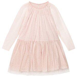 Stella McCartney Kids Girls Dresses Pink Pale Pink Misty Hotfix Dress