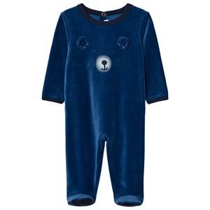 Absorba Boys All in ones Blue Blue Bear Footed Baby Body