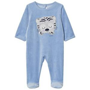 Absorba Boys All in ones Blue Blue Tiger Footed Baby Body