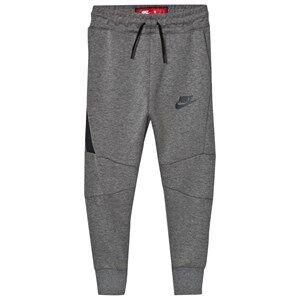 NIKE Boys Fleeces Grey Tech Fleece Pants Gray