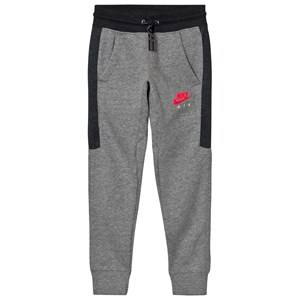 NIKE Boys Bottoms Grey Nike Air Fleece Cuffed Pants Gray