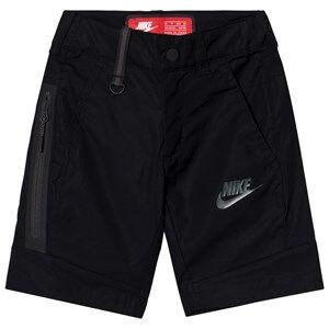 NIKE Boys Shorts Black Woven Tech Shorts Black