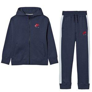 NIKE Boys Clothing sets Navy Nike Air Fleece Cuffed Tracksuit Thunder Blue