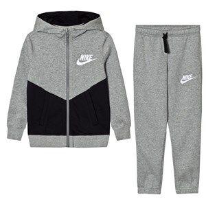 NIKE Boys Clothing sets Grey Fleece Core Tracksuit Dark Gray Heather