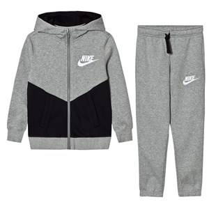 NIKE Boys Clothing sets Grey Fleece Core Tracksuit Dark Gray Heather