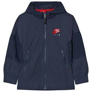 NIKE Boys Jumpers and knitwear Navy Nike Air Hooded Jacket Navy