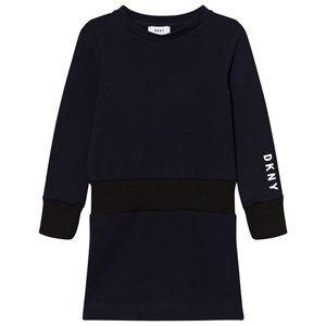 DKNY Girls Dresses Navy Navy Branded Sweat Dress