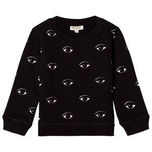 Kenzo Unisex Jumpers and knitwear Black Black Eye Print Sweatshirt