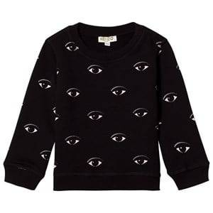 Kenzo Unisex Jumpers and knitwear Black Black Eye Print Sweatshirt