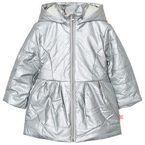 Billieblush Girls Coats and jackets Silver Silver Metallic Teddy Jacket