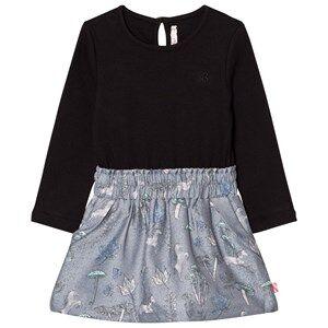 Billieblush Girls Dresses Multi Black Top Multi Pattern Skirt Dress