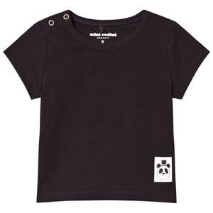 Mini Rodini Unisex Tops Black Basic Tee Black