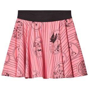 Mini Rodini Girls Skirts Pink Fox Family Skirt Pink