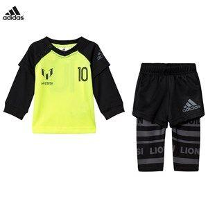 adidas Performance Boys Clothing sets Yellow Yellow Infants Messi Top Bottoms Set