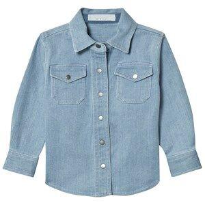 Stella McCartney Kids Girls Tops Blue Blue Denim Dallas Shirt
