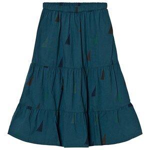 Bobo Choses Girls Skirts Blue Long Skirt Sails