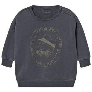 Bobo Choses Unisex Jumpers and knitwear Grey Baby Sweatshirt Captain Ahab