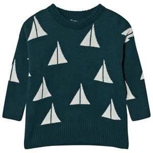 Bobo Choses Unisex Jumpers and knitwear Green Knitted Jumper Alma