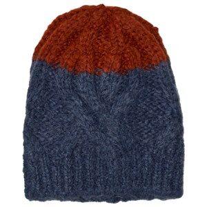 Bobo Choses Unisex Headwear Blue Beanie Big Stripes