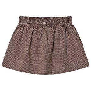 Bobo Choses Girls Skirts Brown Flared Skirt Vichy