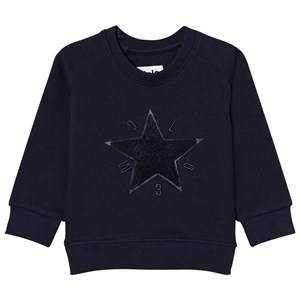 Molo Boys Jumpers and knitwear Blue Dines Sweatshirt Navy Blazer