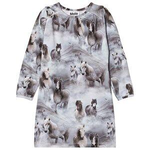 Molo Girls Dresses Grey Ceria Dress Pony