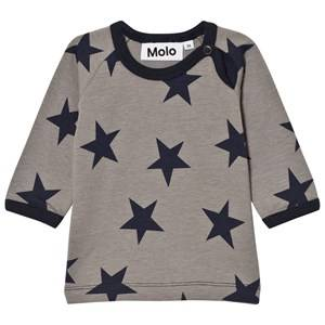 Molo Boys Tops Blue Emery Tee Navy Blazer Star