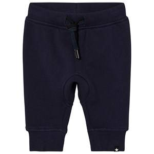 Molo Boys Bottoms Blue Stan Soft Pants Navy Blazer