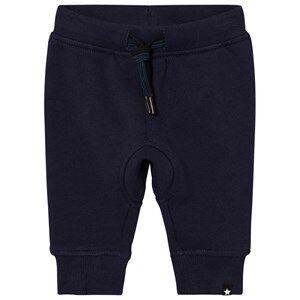 Molo Boys Bottoms Blue Stan Soft Pants Navy Blazer