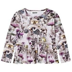 Molo Girls Tops Green Risa Tee Enchanted Forrest