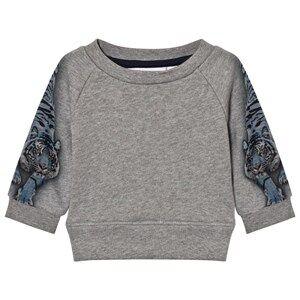 Molo Boys Jumpers and knitwear Blue Dayne Sweatshirt Blue Tigers