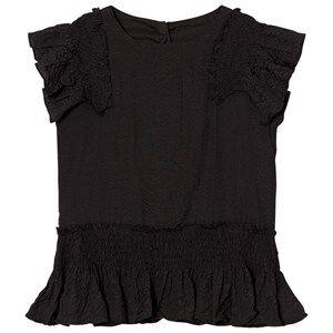 Image of Molo Girls Tops Black Raelene Top Black Bean