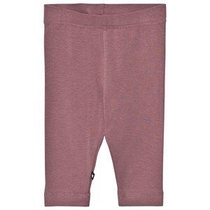 Molo Girls Bottoms Purple Nette Solid Leggings Purple Mist