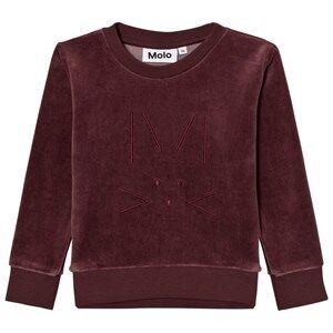Molo Girls Jumpers and knitwear Purple Maya Sweatshirt Purple Mist