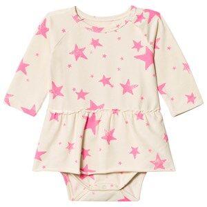 Noe & Zoe Berlin Girls Underwear Pink Pink Stars Baby Body