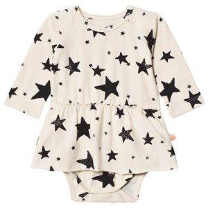 Noe & Zoe Berlin Girls Underwear Black Black Stars Baby Body