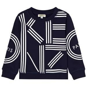 Kenzo Boys Jumpers and knitwear Navy Navy Kenzo Logo Sweatshirt