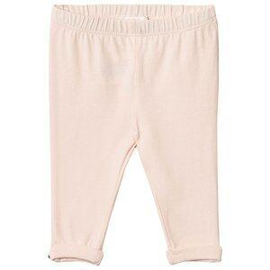 Chloé Girls Bottoms Pink Pale Pink Legging Gold Button Detail