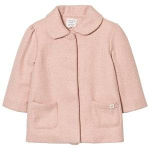 Image of Carrément Beau Girls Coats and jackets Pink Pink Lurex Woven Coat